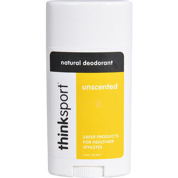 Thinksport Natural Deodorant Unscented -- 3.9 oz