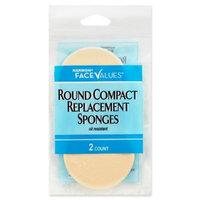 Harmon Face Values: Harmon Face Values Round Compact Sponges 2 Count