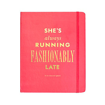2018 kate spade new york 17-month large agenda - fashionably late