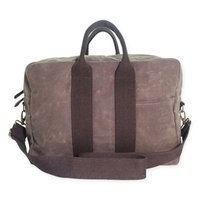 CB Station Waxed Canvas Voyager Carry-on Duffel Olive Waxed Canvas - CB Station Travel Duffels