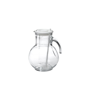 Bormioli Rocco Kufra Glass Jug with Ice Container and Lid