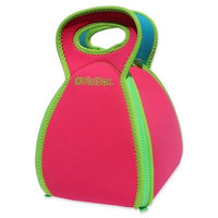 Solvetta Flatbox Insulated Lunch Bag in Pink