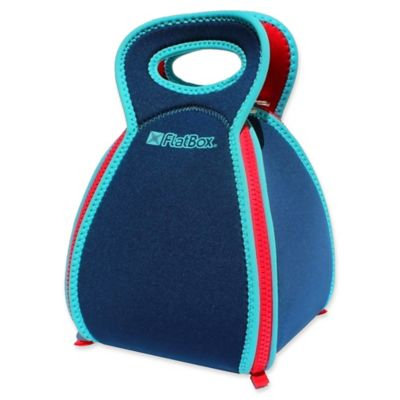 Solvetta Flatbox Insulated Lunch Bag in Blue