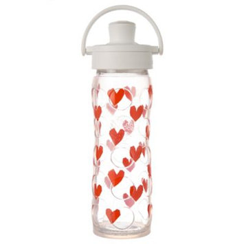 Glass Bottle with Active Flip Cap and Silicone Sleeve Tru Luv Lifefactory 16 oz Bottle