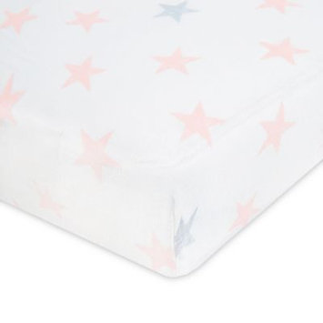 aden® by aden + anais® Doll Cotton Muslin Crib Sheet in Pink