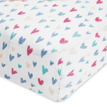 aden® by aden + anais® Summer Soiree Cotton Muslin Crib Sheet in Teal