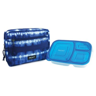 PACKiT® Freezable Bento Container & Bag Set in Tie Dye