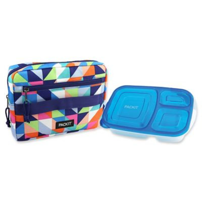 PACKiT® Freezable Bento Container & Bag Set in Paradise Breeze
