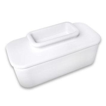 Talisman Designs Butter Keeper in White