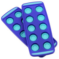 Squish Collapsible Ice Cube Trays in Blue (Set of 2)