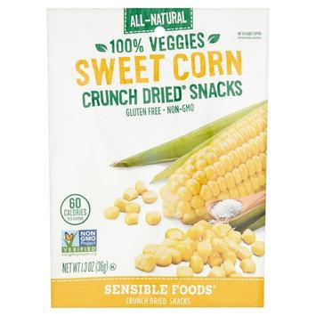 Sensible Foods Sweet Corn Crunch Dried Snacks, 1.3 oz, 12 pack