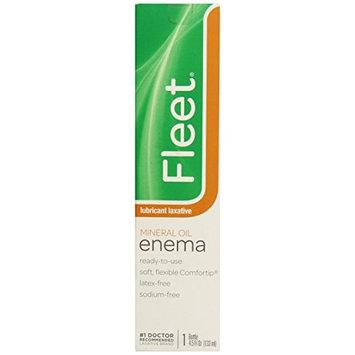 6 Pack - Fleet Mineral Oil Enema 4.50oz Each