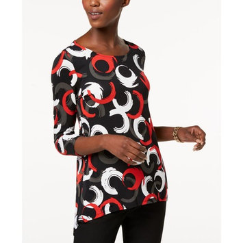 Petite Printed Top, Created for Macy's