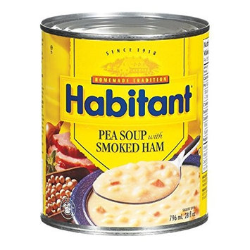 Habitant Split Pea With Smoked Ham Soup, 796ml - Imported from Canada