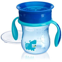 Chicco® NaturalFit® 360-degree 9 oz. Rim Trainer Cup with Handles in Blue
