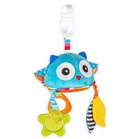 benbat™ Dazzle Friends Owl Stroller Toy with Mirror
