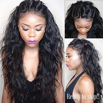 Vanessa Queen Long Hair Wig Water Wave Synthetic Lace Front Wig For Black Women