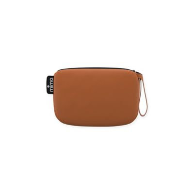 Infant Mima Faux Leather Clutch - Brown