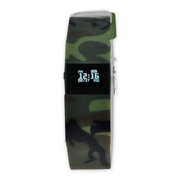Wired Fitness Tracker Watch Camouflage - Wired Wearable Technology