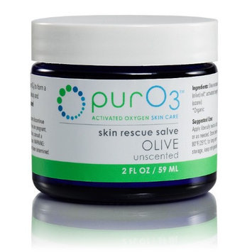 Ozonated Skin Rescue Salve Olive PurO3 2 oz Cream
