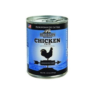 Redbarn Naturals Chicken Pate Indoor Grain-Free Canned Cat Food, 12.5-oz, case of 12