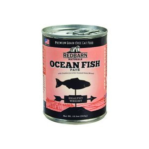 Redbarn Naturals Ocean Fish Healthy Weight Grain-Free Canned Cat Food, 12.5-oz, case of 12