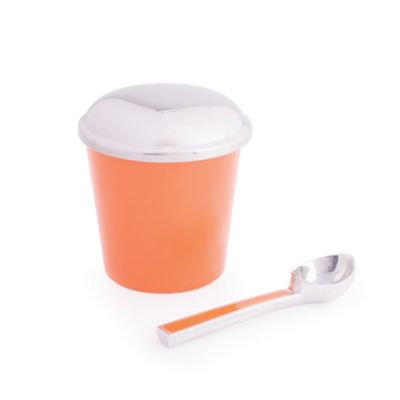 Marigold Artisans Ice Cream Container with Scoop in Sherbet