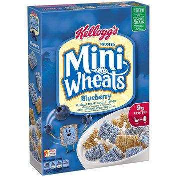 Kellogg Sales Co Kellogg's Frosted Mini Wheats Blueberry Muffin 16 oz