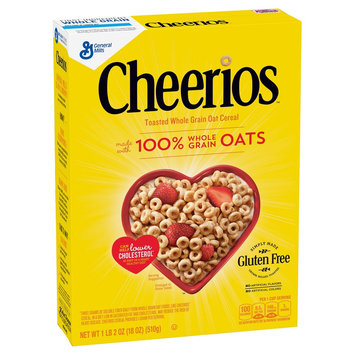 Cheerios Whole Grain Oat Cereal 18 oz