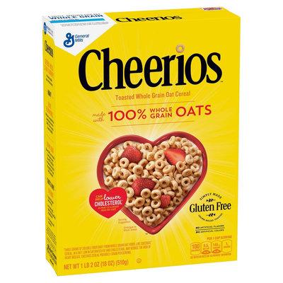 Cheerios Whole Grain Oat Cereal 18 oz