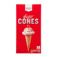 Sugar Cones 12 Count - Market Pantry