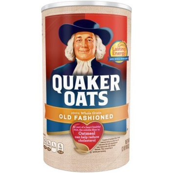 Quaker Oats, Old Fashioned Oatmeal Breakfast Cereal, 42 Oz,