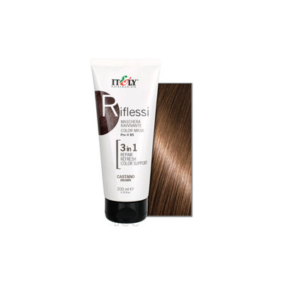 IT & LY Hair Fashion Riflessi Color Renewal Mask Brown