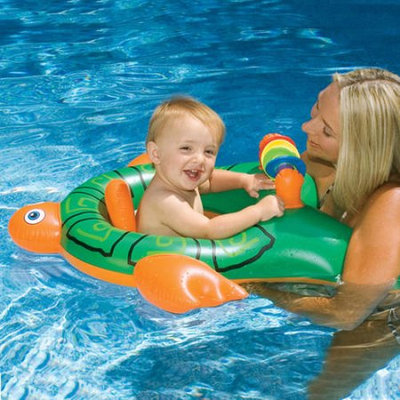Swimline Me and You Baby Seat for Swimming Pool, Green