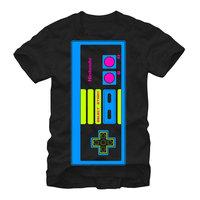 Fifth Sun Nintendo Vibrant NES Controller Mens Graphic T Shirt