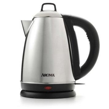 Aroma Housewares Aroma 1.5-Liter Water Kettle, Stainless Steel