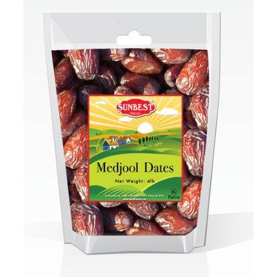 SunBest Medjool Dates in Resealable Bag 4 Lb