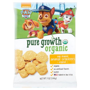 Pure Growth Organic Foods, Llc Pure Growth Nickelodeon Paw Patrol Organic Original Pup Shaped Animal Crackers, 7 oz