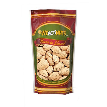 We Got Nuts - Raw Almonds, In-Shell, Unsalted, (1 lb)