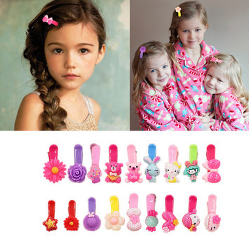 Coxeer 30PCS Hair Barrettes Stylish Designed Hair Pins Hair Clips Barrette Accessories for Girls Kids