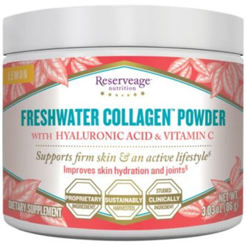 Freshwater Collagen Powder - LEMON (3.03 Ounces Powder) by Reserveage Nutrition at the Vitamin Shoppe
