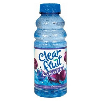 Clearfruit Grape Flavored Water - 20 fl oz Bottle