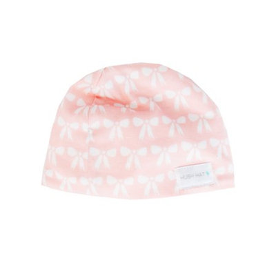Awake Hush Hat - Merci Bow Small, Pink