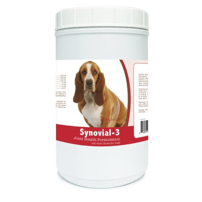 Healthy Breeds 840235101406 Basset Hound Synovial-3 Joint Health Formulation - 240 Count