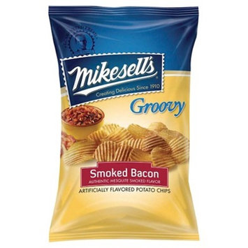 mike-sell's Smoked Bacon Groovy Potato Chips 2oz Bag