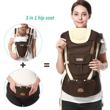 Itopboutique Baby Carrier Ergonomic 4 Position Baby Sling ,Brown
