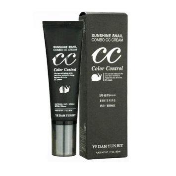 YEDAM YUN BIT Sunshine Snail Combo CC Cream 1.76Oz SPF45/PA+++ Whitening Wrinkle care