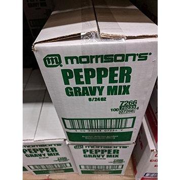Morrison's Pepper Gravy Mix 24 Oz (6 Pack)