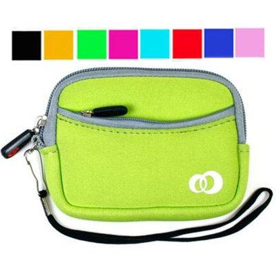VangoddyTM Assorted Color - Soft Neoprene Polychloroprene Camera Case for Panasonic Lumix Dmc-fx580 Dmc-fx48 Dmc-fs25 Dmc-ts1 Dmc-fs6 Dmc-ls85 Dmc-fs6 Dmc-fs15 Dmc-fs7 + Screen Protector Kit