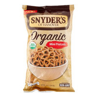 Snyder's of Hanover Organic Mini Pretzels, 8 Oz